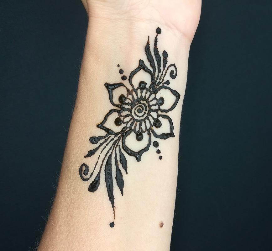 Xmasir 14 Piece India Henna Tattoo Stencil